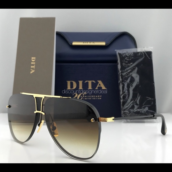 cc1d36a6c6 DITA DECADE TWO AVIATOR SUNGLASSES LIMITED EDITION